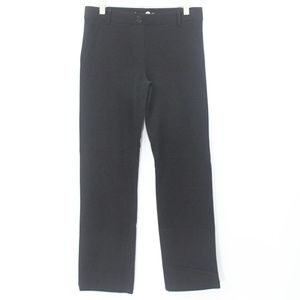 Betabrand Straight Leg Dress Pants Yoga Ponte Knit